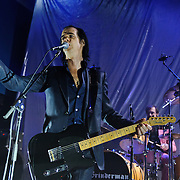 WASHINGTON, D.C. - NOVEMBER 16th, 2010:  Grinderman featuring Nick Cave perform at the 9:30 Club in Washington, D.C. The band is currently touring behind their sophomore album Grinderman 2, which was released this year. (Photo by Kyle Gustafson/For The Washington Post)