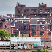 Buildings in the West Bottoms area, Kansas City, Missouri.