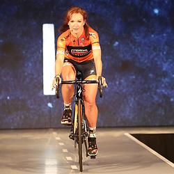 19-01-2017: Wielrennen: Persmoment Boels Dolmans: Valkenburg   <br />VALKENBURG (NED) wielrennen<br />In Chateau Sint Gerlach waar de groten der aarde overnachten presenteerde het Boels-Dolmans Womens Cyclingteam zich aan pers en genodigden. AMy Pieters