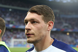 June 1, 2018 - Paris, Ile-de-France, France - Andrea Belotti (Italy) before the friendly football match between France and Italy at Allianz Riviera stadium on June 01, 2018 in Nice, France..France won 3-1 over Italy. (Credit Image: © Massimiliano Ferraro/NurPhoto via ZUMA Press)