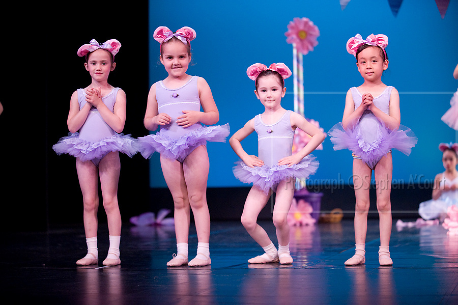 Wellington, NZ. 7.12.2013. Tiaras Group 2, from the Wellington Dance & Performing Arts Academy end of year stage-show 2013. Little Show, Saturday 10am. Photo credit: Stephen A'Court.  COPYRIGHT ©Stephen A'Court