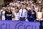 DESCRIZIONE : Campionato 2014/15 Serie A Beko Grissin Bon Reggio Emilia - Dinamo Banco di Sardegna Sassari Finale Playoff Gara7 Scudetto<br /> GIOCATORE : Geppi Cucciari<br /> CATEGORIA : vip<br /> SQUADRA : Banco di Sardegna Sassari<br /> EVENTO : Campionato Lega A 2014-2015<br /> GARA : Grissin Bon Reggio Emilia - Dinamo Banco di Sardegna Sassari Finale Playoff Gara7 Scudetto<br /> DATA : 26/06/2015<br /> SPORT : Pallacanestro<br /> AUTORE : Agenzia Ciamillo-Castoria/GiulioCiamillo<br /> GALLERIA : Lega Basket A 2014-2015<br /> FOTONOTIZIA : Grissin Bon Reggio Emilia - Dinamo Banco di Sardegna Sassari Finale Playoff Gara7 Scudetto<br /> PREDEFINITA :