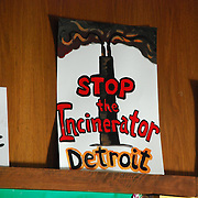 Detroit Incinerator rally held at the First Unitarian Church of Detroit on May 13, 2008.