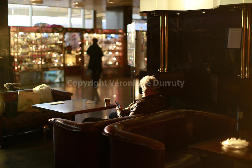 """Hotel, remaining of soviet times, St Petersburg, Russia // Hotel """"vintage """" datant de l'époque sovietique, St Petersbourg, Russie"""