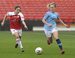February 23, 2019 - Sheffield, England, United Kingdom - Keira Walsh (Manchester City) heads for goal during the  FA Women's Continental League Cup Final  between Arsenal and Manchester City Women at the Bramall Lane Football Ground, Sheffield United FC Sheffield, Saturday 23rd February. (Credit Image: © Action Foto Sport/NurPhoto via ZUMA Press)