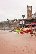 Contestants in the San Clemente Ocean Festival