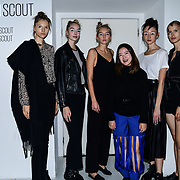 Designer A-Jane Backstate at Fashion Scout - SS19 Day 3, on 15 September 2019, London, UK