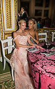 MARINIKA SMIRNOVA; KHRISTINA SYSOEVA; , The 20th Russian Summer Ball, Lancaster House, Proceeds from the event will benefit The Romanov Fund for RussiaLondon. 20 June 2015