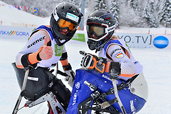 FORSTER Anna-Lena, LW12-1, GER, SCHAFFELHUBER Anna, LW10-2, Women's Slalom at the WPAS_2019 Alpine Skiing World Championships, Kranjska Gora, Slovenia