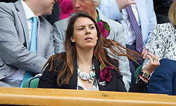 LONDON, ENGLAND - Saturday, July 5, 2014: 2013 Wimbledon Ladies' Champion Marion Bartoli in the royal box during the Ladies' Singles Final match on day twelve of the Wimbledon Lawn Tennis Championships at the All England Lawn Tennis and Croquet Club. (Pic by David Rawcliffe/Propaganda)