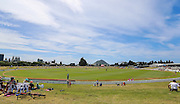 General view of Bay Oval during the McDonalds Super Smash T20 cricket match - Knights v Volts played at Bay Oval, Mount Maunganui, New Zealand on Sunday 18 December.<br /> <br /> Copyright photo: Bruce Lim / www.photosport.nz