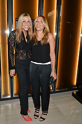 Left to right, MELANIE BLATT and NICOLE APPLETON at the Watches of Switzerland Flagship Store Launch, 155 Regent Street, London on 17th July 2014.