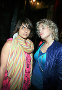 "Vanessa and Ginny Suss at The Roots Album realease party for "" Roots Down at Sutra on April 29, 2008"".. The Legendary Roots Crew, the influential, Grammy Award-winning American band from Philadelphia, Pennsylvania, famed for a heavily jazzy sound and live instrumentation, have made 10 Albums to date."