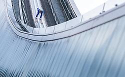 01.01.2018, Olympiaschanze, Garmisch Partenkirchen, GER, FIS Weltcup Ski Sprung, Vierschanzentournee, Garmisch Partenkirchen, Probesprung, im Bild Clemens Aigner (AUT) // Clemens Aigner of Austria during his Trial Jump for the Four Hills Tournament of FIS Ski Jumping World Cup at the Olympiaschanze in Garmisch Partenkirchen, Germany on 2018/01/01. EXPA Pictures © 2018, PhotoCredit: EXPA/ JFK