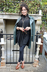 NANCY DELL'OLIO at a party to celebrate 'A Year In The Garden' celebrating the first year of The Ivy Chelsea Garden, 197 King's Road, London on 16th May 2016.