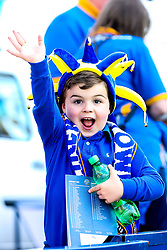 Shrewsbury Town fans - Mandatory by-line: Robbie Stephenson/JMP - 13/05/2018 - FOOTBALL - Montgomery Waters Meadow - Shrewsbury, England - Shrewsbury Town v Charlton Athletic - Sky Bet League One Play-Off Semi Final