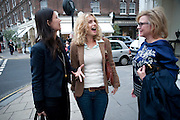 KLAARJE OUIRJNS; MARYAM D'ABO; KAY SAATCH, The Pimlico Road Summer party. London SW1. 9 June 2009