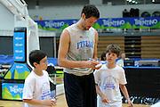 TRENTO 09-08-2013  BASKET TRENTINO CUP - ALLENAMENTO<br /> NELLA FOTO: ANGELO GIGLI<br /> FOTO : CIAMILLO