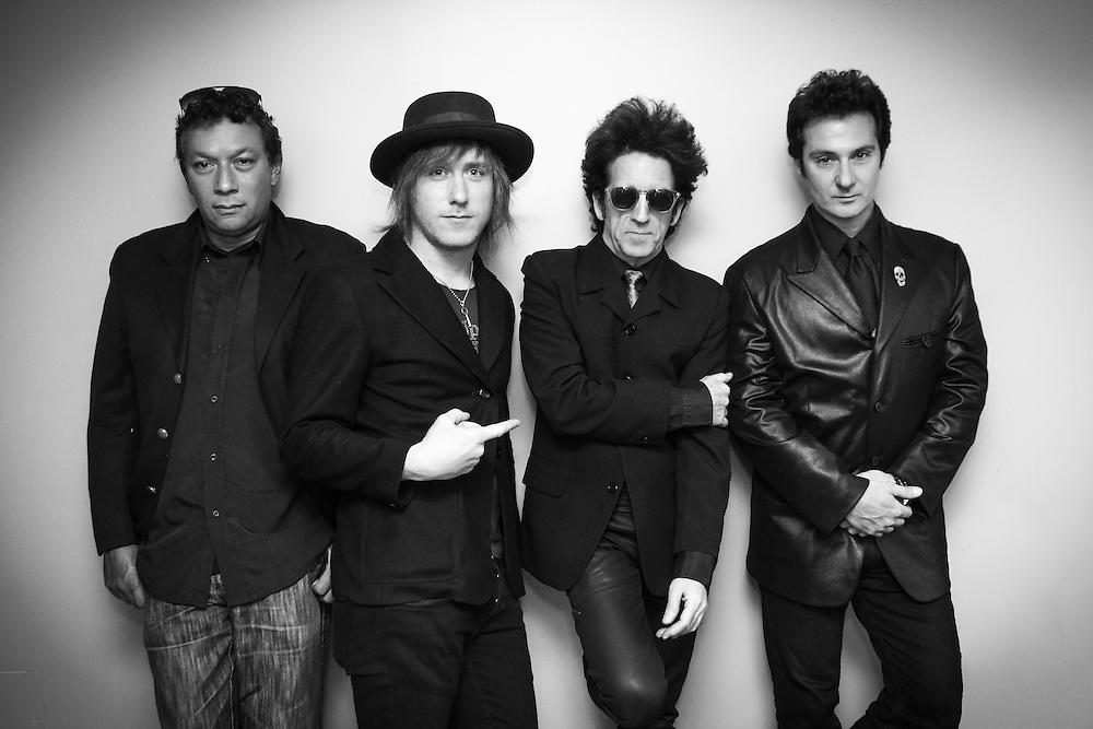 Willie Nile and band<br /> Alex Alexander, Matt Hogan, Willie Nile, Johnny Pisano