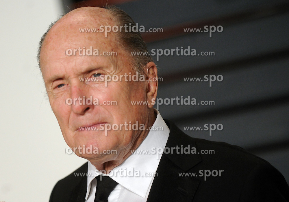 Robert Duvall in attendance for 2015 Vanity Fair Oscar Party Hosted By Graydon Carter at Wallis Annenberg Center for the Performing Arts on February 22, 2015 in Beverly Hills, California. EXPA Pictures &copy; 2015, PhotoCredit: EXPA/ Photoshot/ Dennis Van Tine<br /> <br /> *****ATTENTION - for AUT, SLO, CRO, SRB, BIH, MAZ only*****
