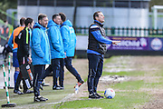 Forest Green Rovers manager, Mark Cooper during the Vanarama National League match between Forest Green Rovers and Macclesfield Town at the New Lawn, Forest Green, United Kingdom on 4 March 2017. Photo by Shane Healey.