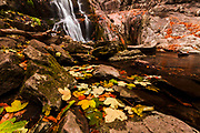 Waterfalls Canyon in autumn time