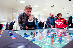 Bristol Sport host a pop up stall in John Lewis at Cribbs Causeway with Taylor Moore, Adam Nagy and Nathan Baker of Bristol City attending - Mandatory by-line: Robbie Stephenson/JMP - 03/12/2019 - SPORT - Cribbs Causeway - Bristol, England - Bristol Sport Pop Up at John Lewis