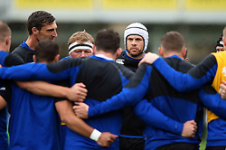 Dave Attwood of Bath Rugby looks on in a pre-match huddle - Mandatory byline: Patrick Khachfe/JMP - 07966 386802 - 22/09/2018 - RUGBY UNION - The Recreation Ground - Bath, England - Bath Rugby v Northampton Saints - Gallagher Premiership Rugby