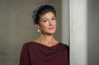 16 MAY 2016, BERLIN/GERMANY:<br /> Sahra Wagenknecht, MdB, Die Linke, Fraktionsvorsitzende DIe Linke Bundestagsfraktion, Jakob-Kaiser-Haus, Deutscher Bundestag<br /> IMAGE: 20170516-02-023