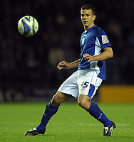 Fotball<br /> England<br /> Foto: Colorsport/Digitalsport<br /> NORWAY ONLY<br /> <br /> Jack Hobbs of Leicester City<br /> Leicester City vs Peterborough United<br /> Coca Cola Championship, Walkers Stadium, Leicester, UK<br /> 15/09/2009.