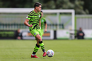 Forest Green Rovers Matty Stevens(9) on the ball during the EFL Sky Bet League 2 match between Forest Green Rovers and Crawley Town at the New Lawn, Forest Green, United Kingdom on 5 October 2019.