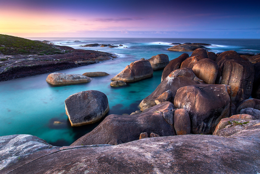 Possibly one of the most beautiful bays in Western Australia, Elephant Rocks in Denmark is worth a look on any given day - even the wet and windy ones!
