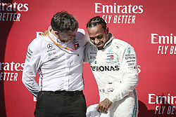 November 3, 2019, Austin, United States of America: Motorsports: FIA Formula One World Championship 2019, Grand Prix of United States, ..James Allison (Mercedes AMG Petronas Motorsport), #44 Lewis Hamilton (GBR, Mercedes AMG Petronas Motorsport) (Credit Image: © Hoch Zwei via ZUMA Wire)