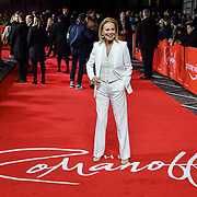 Marthe Keller attend The Romanoffs - World Premiere at CURZON MAYFAIR, London, Uk. 2nd October 2018.