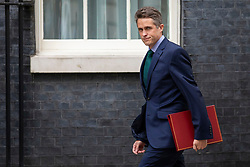 © Licensed to London News Pictures. 10/07/2018. London, UK. Defence Secretary Gavin Williamson arrives on Downing Street for the Cabinet meeting. Photo credit: Rob Pinney/LNP