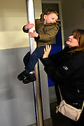 © Licensed to London News Pictures. 07/12/2013. Kent, UK Ethan at Fire station. Photo credit : Stephen Simpson/LNP