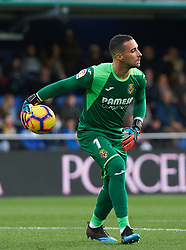 January 20, 2019 - Villarreal, Castellon, Spain - Sergio Asenjo of Villarreal during the La Liga Santander match between Villarreal and Athletic Club de Bilbao at La Ceramica Stadium on Jenuary 20, 2019 in Vila-real, Spain. (Credit Image: © Maria Jose Segovia/NurPhoto via ZUMA Press)