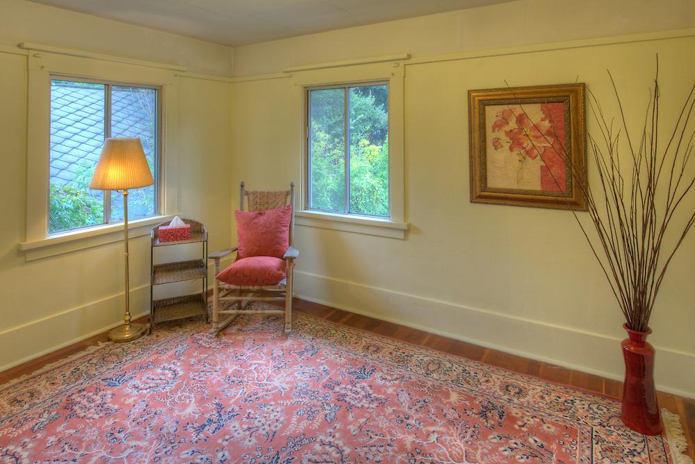Interior of a Berkeley home.