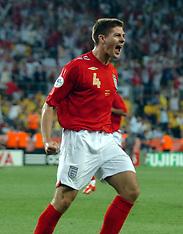 Steven Gerrard - England retro
