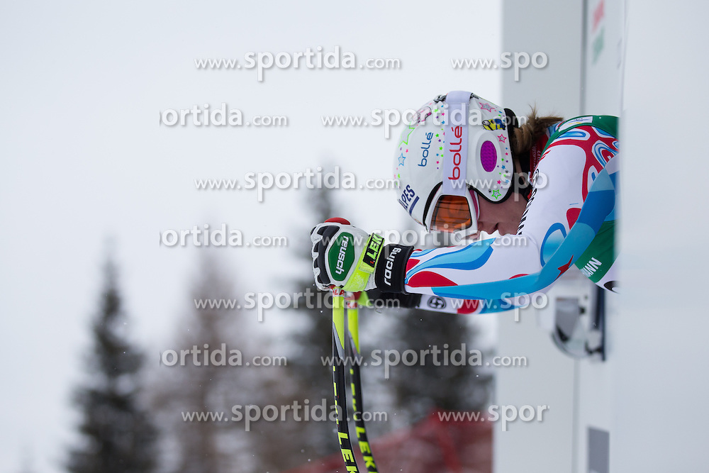 07.02.2013, Planai, Schladming, AUT, FIS Weltmeisterschaften Ski Alpin, 2. Training, Abfahrt, Damen, im Bild Marion Rolland (FRA) // Marion Rolland of France before 2nd practice of the ladies Downhill at the FIS Ski World Championships 2013 at the Planai Course, Schladming, Austria on 2013/02/07. EXPA Pictures © 2013, PhotoCredit: EXPA/ Johann Groder
