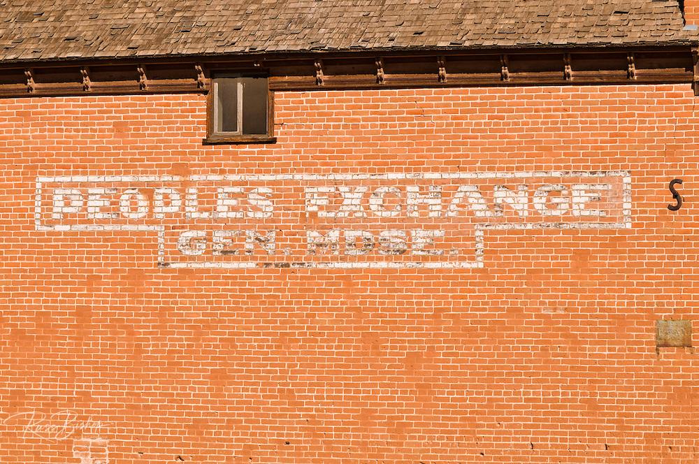 People's Exchange building, Escalante, Utah