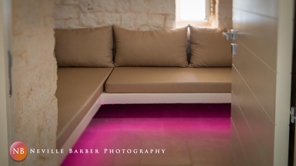 Images of the Internal decor of the Luxury Trullo Capo di Gallo