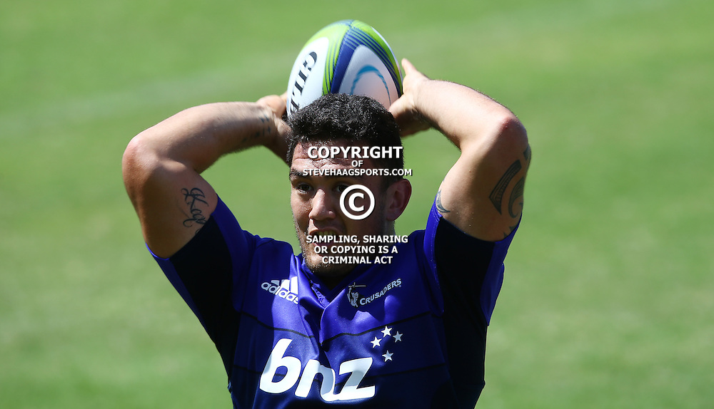 DURBAN, SOUTH AFRICA, 22,MARCH, 2016 - Codie Taylor during The Crusaders training session  at Northwood School Durban North in Durban, South Africa. (Photo by Steve Haag)<br /> <br /> images for social media must have consent from Steve Haag