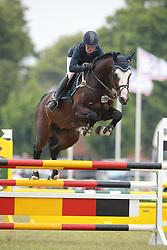 Johannsson, Jenny, Boris<br /> Elmshorn - Holsteiner Pferdetage<br /> Springen Klasse M Finale 5j.<br /> © www.sportfotos-lafrentz.de/ Stefan Lafrentz