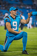 October 17, 2017: Carolina Panthers vs the Philadelphia Eagles. Graham Gano