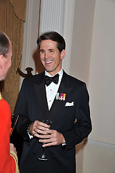 PRINCE PAVLOS OF GREECE at a dinner in aid of Caring For Courage - The Royal Scots Dragoon Guards Afghanistan Welfare Appeal held at The Royal Hospital Chelsea, London SW3 on 20th October 2011.