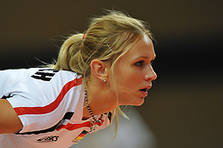 10.10.2010, Bremen Arena, Bremen, GER, Vorbereitung Volleyball WM Frauen 2010, Laenderspiel Deutschland ( GER ) vs. Tuerkei ( TUR ), im Bild Margareta Kozuch (#14 GER). EXPA Pictures © 2010, PhotoCredit: EXPA/ nph/   Conny Kurth+++++ ATTENTION - OUT OF GER +++++
