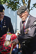 73rd Anniversary of the Dieppe Raid (19 August 1942) A memorial service was held at the Canadian War Memorial in Newhaven, East Sussex on the south coast of England.<br /> <br /> The location for the anniversary event included Newhaven Fort