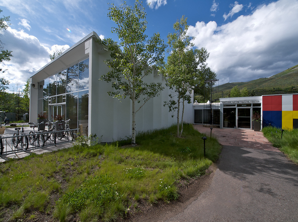 Health Center & Gym, Aspen Institute, Herbert Bayer, Architect