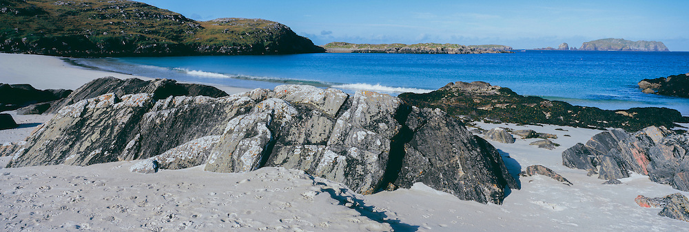 A remote beach on Great Bernera, Isle of Lewis, Scotland
